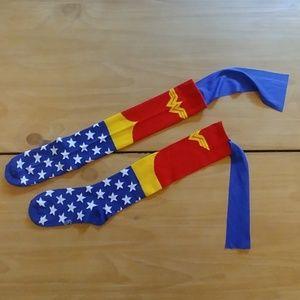 Wonder Woman girls socks (Never Used)